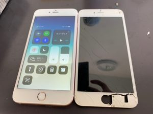 iPhone6s 画面割れ 0426