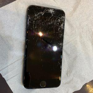 iPhone アイフォン 画面 ガラス 破損 バキバキ 修理 交換 パネル