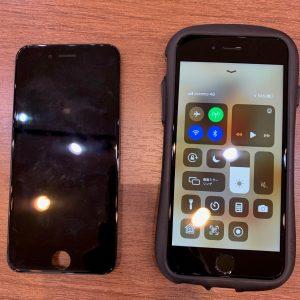 液晶画面交換修理を行ったiPhone7