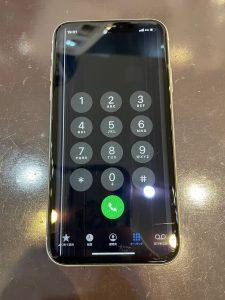 液晶に線があるiPhone11