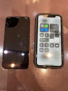 液晶パネル交換修理を行ったiPhone11