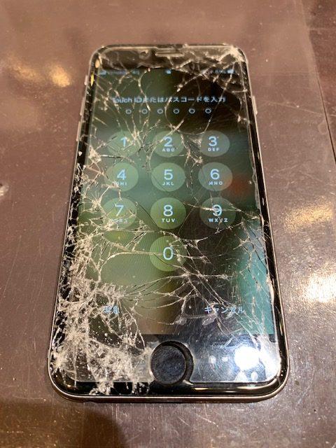 画面割れによる怖い症状3選💦|iPhone修理福岡市|香椎浜からお越しのお客様