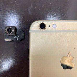 微細に揺れてピントが合わないiPhone6spバックカメラも即日修理|東区和白からご来店のお客様
