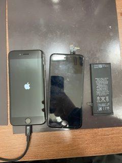 わざとじゃないのに…😭/iPhone6/画面交換/バッテリー交換