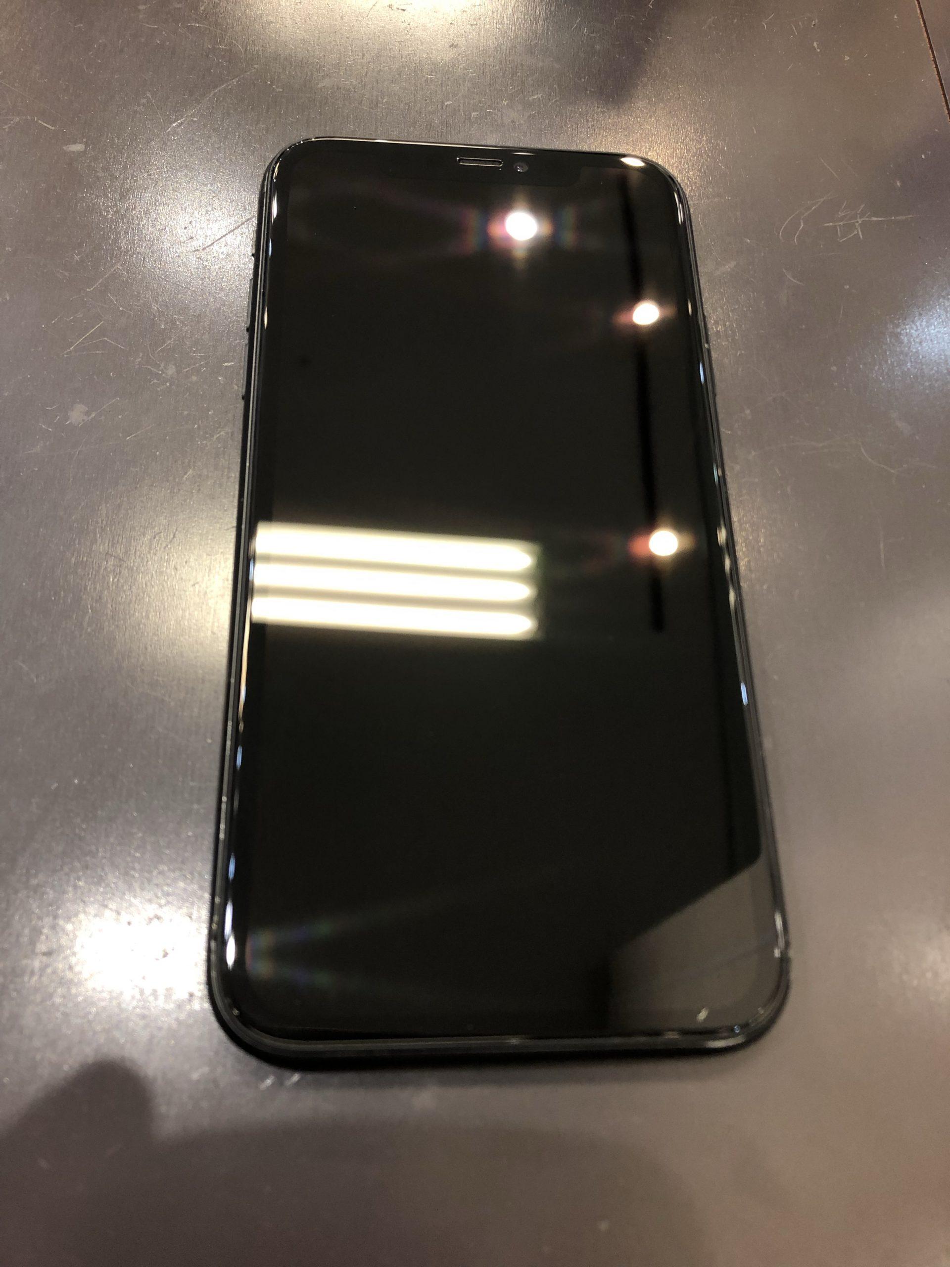 新しいスマホ落としてすぐ割れたりしないよう保護!!iPhone11のガラスコーティング