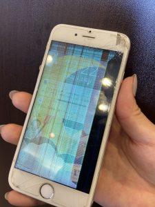 iPhone6S 液晶不具合修理前