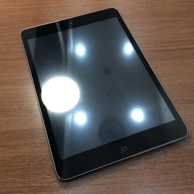 iPadmini2タッチ操作できない【岡山県倉敷市水江からのお客様】