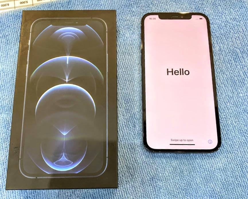 iPhone12Proを買ったら、まず行う事とは!?ガラスコーティングです!!【岡山県倉敷市中島からのお客様】