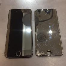 【修理速報】画面の割れを即修理しませんか!?iPhone8の画面交換。〈岡山県倉敷市からのお客様〉