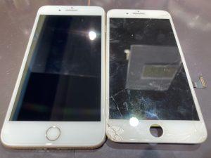iPhone7plus 画面交換