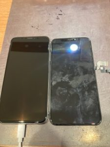 AiphoneX画面交換