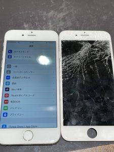 修理後アイフォン6