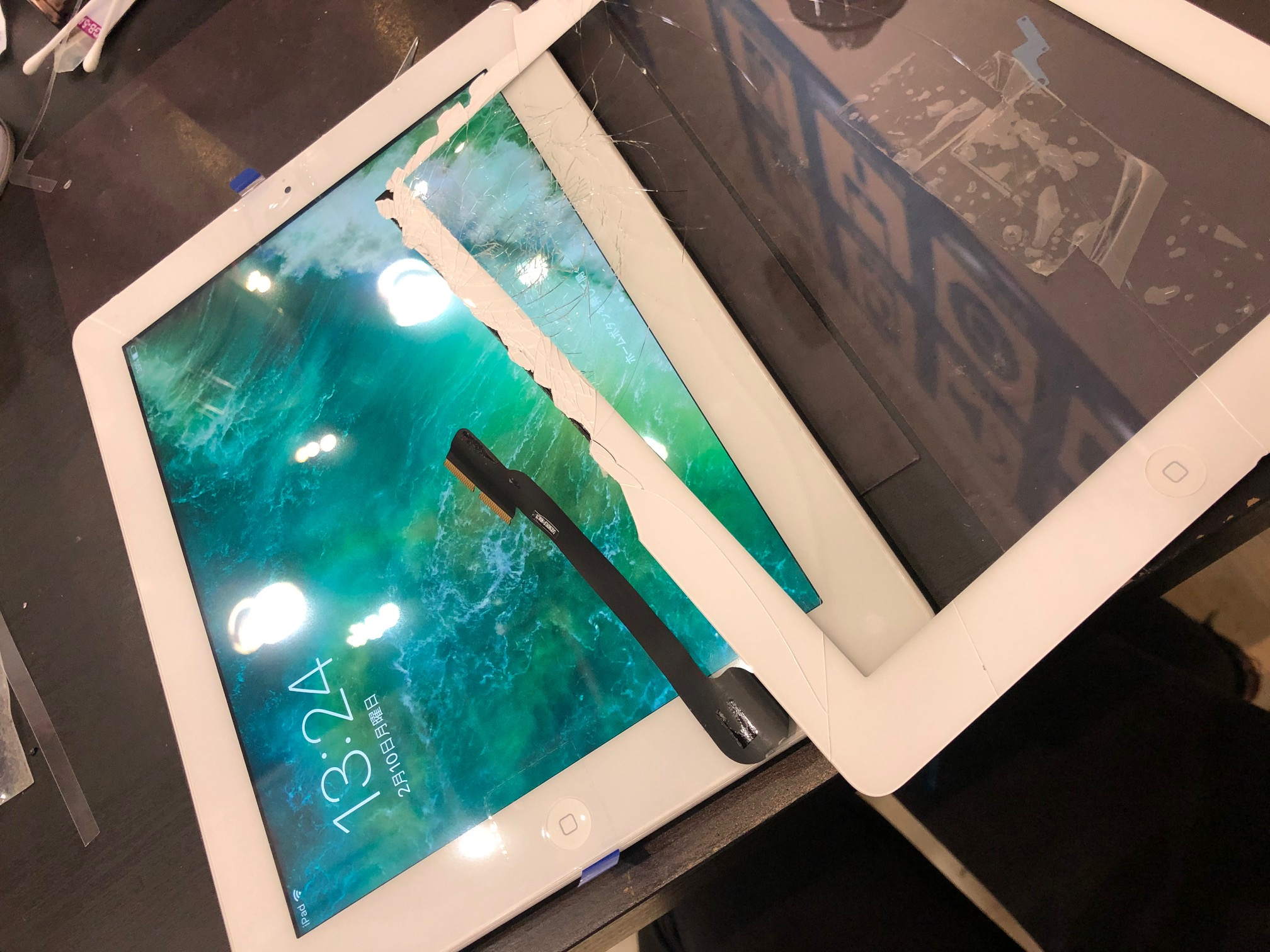 iPad 画面交換【天理市】