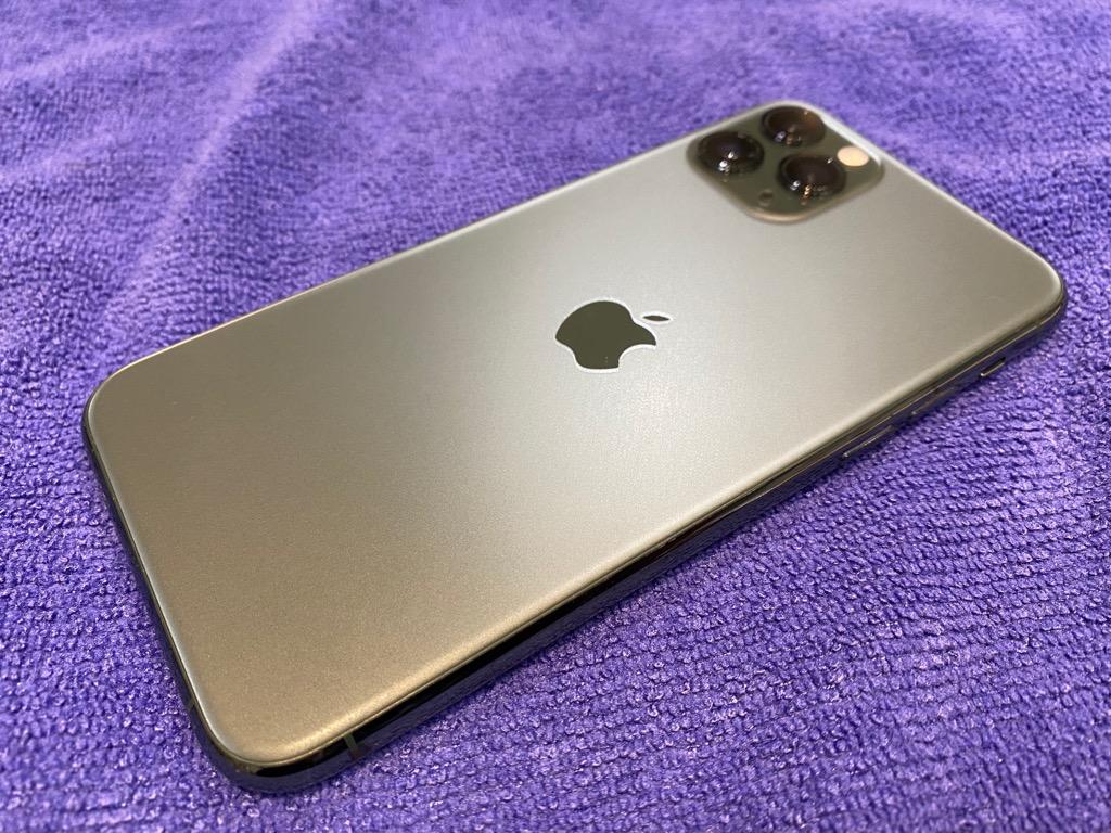 iPhone11Pro ガラスコーティング 両面施工【宇陀市より】