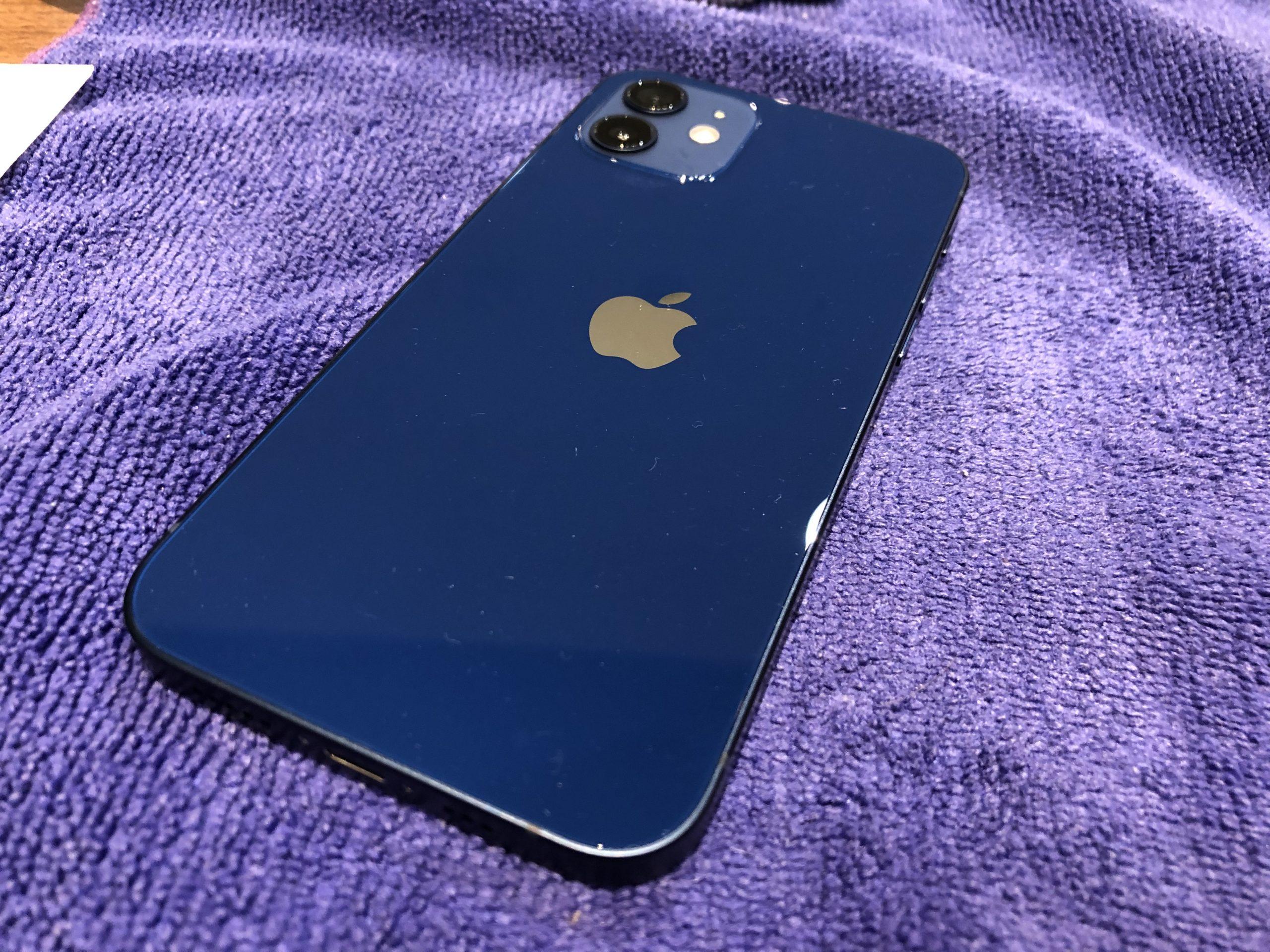 iPhone12mini ガラスコーティング 【奈良県大和高田市】