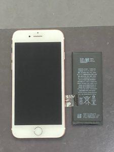 アイフォーン7 バッテリー交換【iPhone 7】 八幡西区