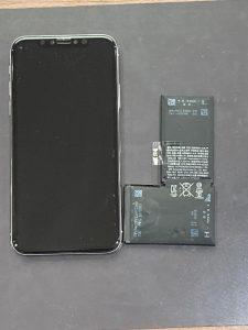 アイホーンテン バッテリー交換【iPhone X】 田川郡