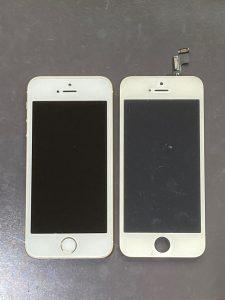 アイホーンSE(第一世代) 液晶漏れ【iPhone SE】 中間市