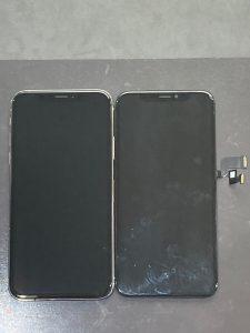 アイホーンテン ガラス割れ・液晶漏れ【iPhone X】 八幡西区