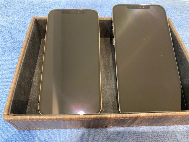 iPhone12シリーズスマホガラスコーティング<一宮市よりお越しのお客様>