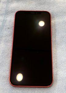G-POWERガラスコーティング施工後のiPhone12 ①