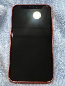 G-POWERガラスコーティング施工後のiPhone12 mini