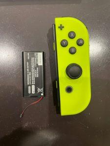 Switchジョイコン バッテリー交換