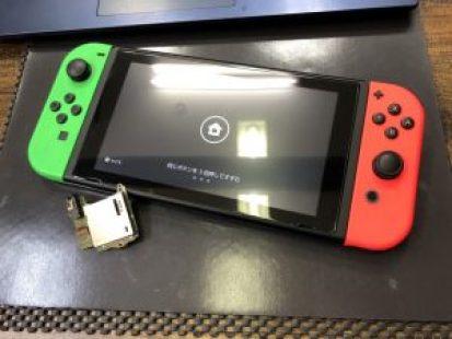 Switchゲームスロット交換修理