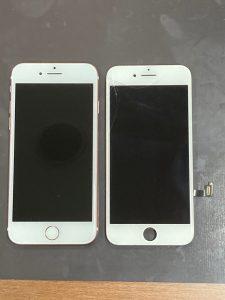 iPhone 7 ガラス割れ 鈴鹿市
