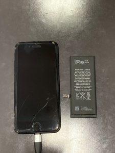 iPhone 7 電池交換 亀山市