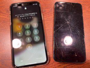タッチが全く効かない…画面交換で解決!iPhoneXRの画面交換〈高松市のお客様〉