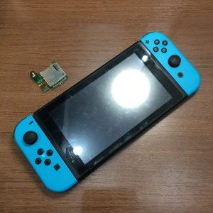 任天堂スイッチ、ゲームソフトが読み込まない!スマートクール高松でご修理可能です!【岡山県倉敷市連島からのお客様】