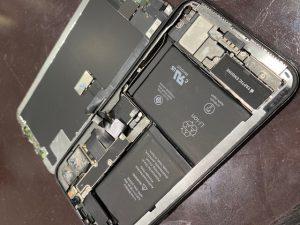 バッテリー交換したiPhoneX