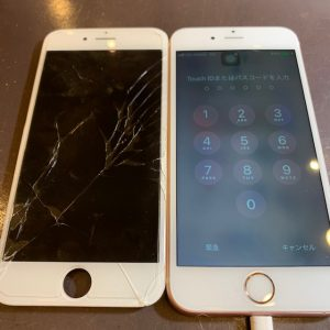 iPhone8・画面交換《高松市からお越しのお客様》
