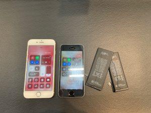 iPhone6sとiPhoneSEのバッテリー交換