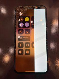 画面が故障したiPhoneX