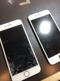 画面交換したiPhone7