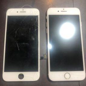 iPhone7 画面交換 川崎市からのご来店