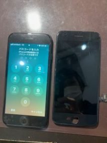 iPhone7 バッテリー交換 横浜市青葉区からのご来店