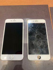 画面交換したiPhone6sp