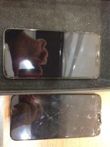 iPhoneX 画面交換 横浜市からのご来店