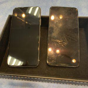 画面交換したiPhoneXS