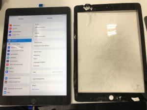 IPAD5ガラス交換修理