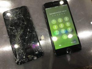 iPhone8ガラス液晶交換修理