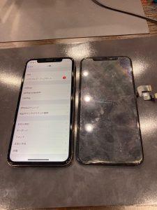iPhoneXS水没復旧&画面交換