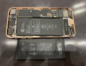 iPhone8バッテリー交換