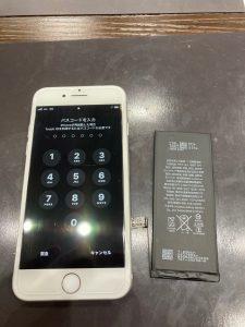 アイフォーン7 バッテリー交換