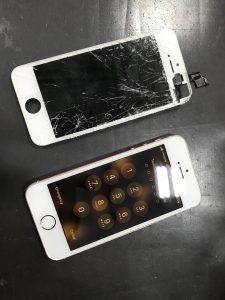 画面交換で復活、iPhoneSE