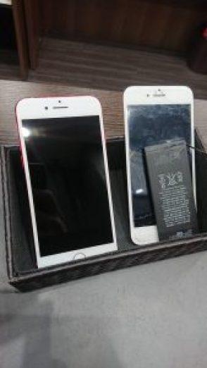 アイフォン7 画面交換 バッテリー交換