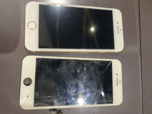 iPhone修理 画面交換 iphone8